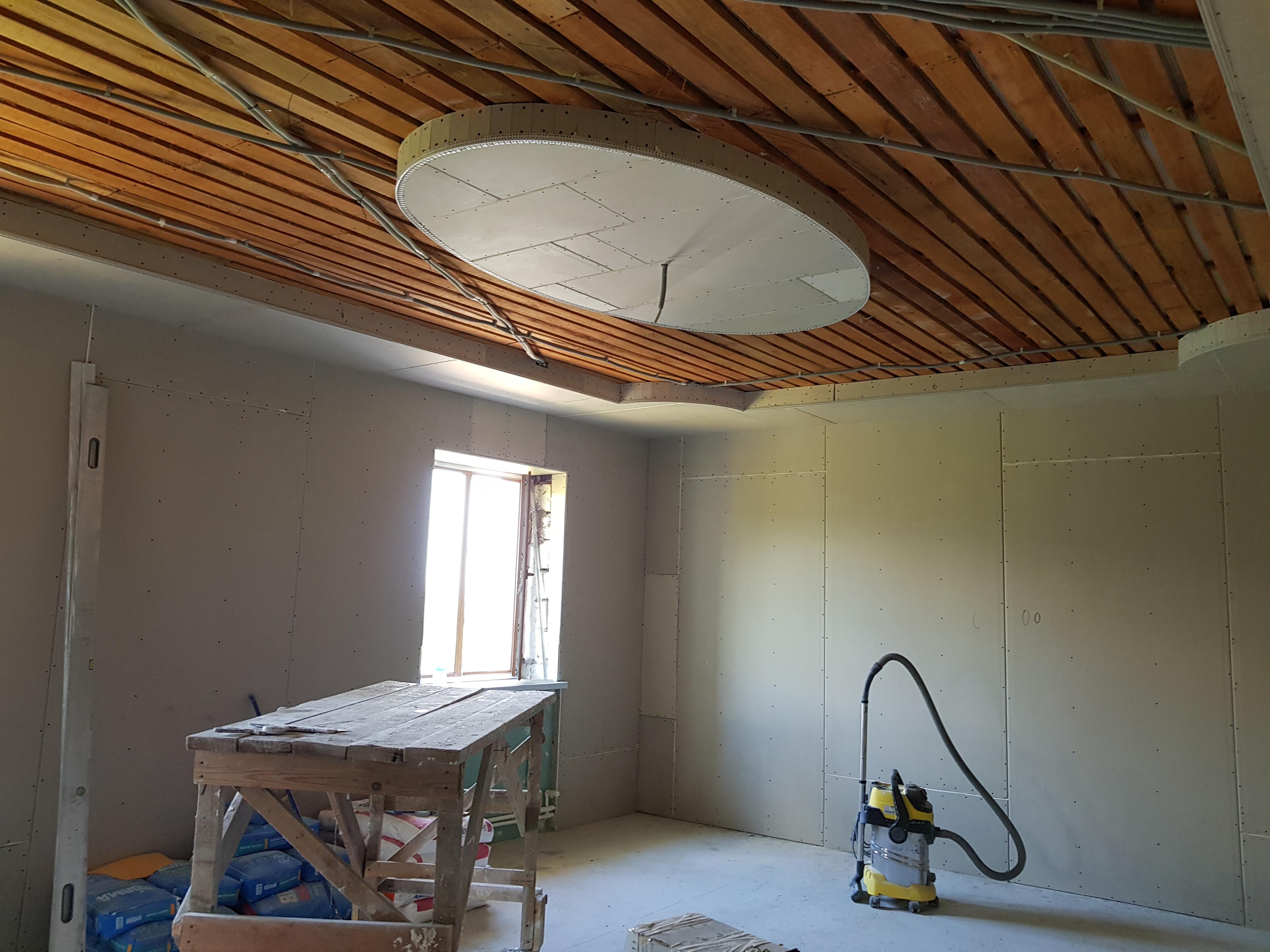 Потолок и стены 1