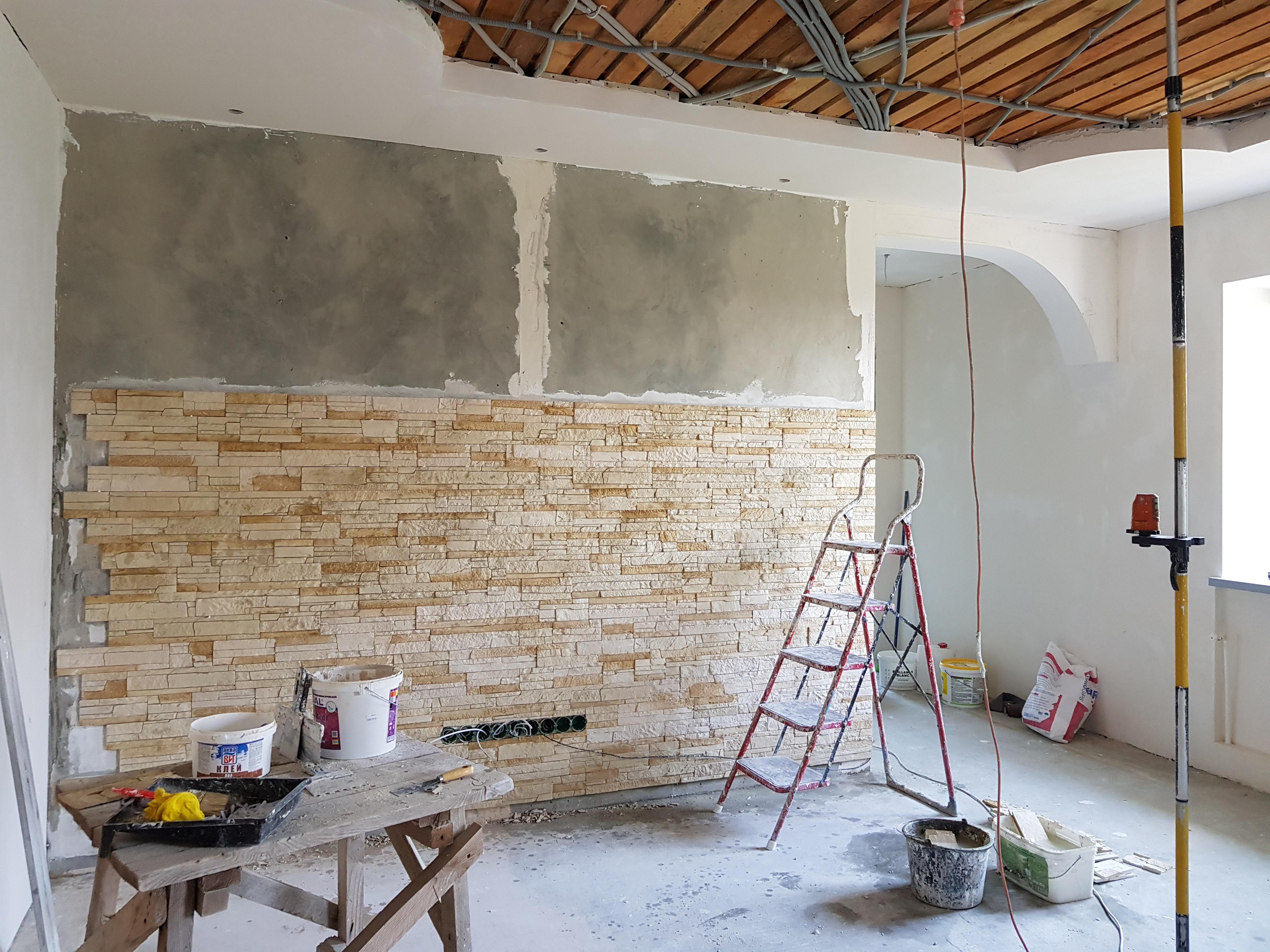 Потолок и стены 2